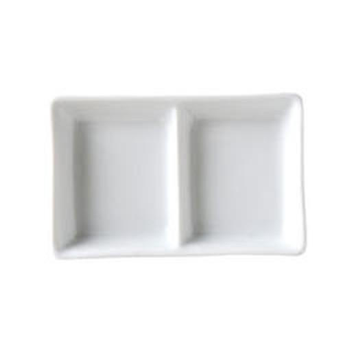 Vertex Ventana double compartment sauce dish, 65x83mm, AV-D2