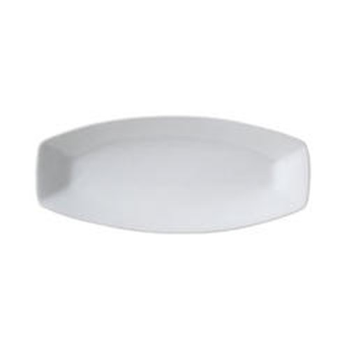 Vertex Ventana narrow rectangular satay platter, 400x180mm