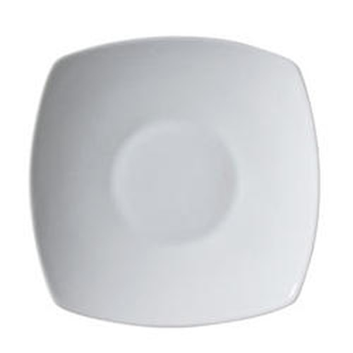 Vertex Ventana Square rim edged bowl, 167mm.